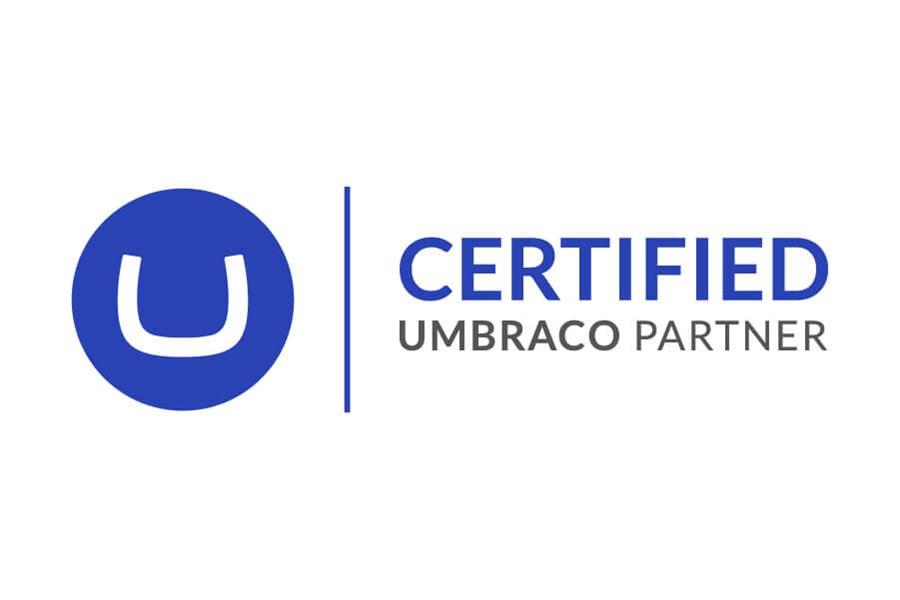 Umbraco Certified Partner Banner Tekengebied