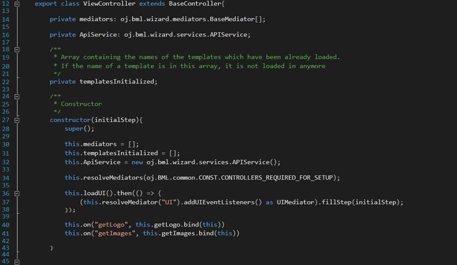 OJ Blog Codesnippet