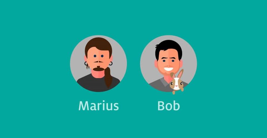 Marius En Bob 2