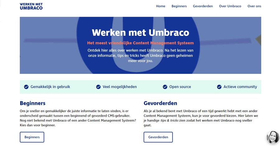 Blog Werken Met Umbraco