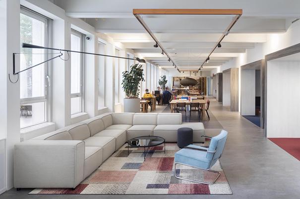 Lounge Kantoorgebouw De Enk